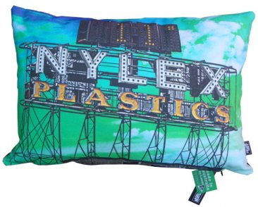 Cushion  50x35cm Nylex Sign Clock